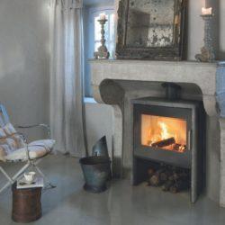 Poêle à bois en pierre ollaire - Pano - Brisach Pays de la Loire