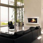 Habillage cheminée Duplex XXL finition grandes vagues - Brisach Orvault Angers