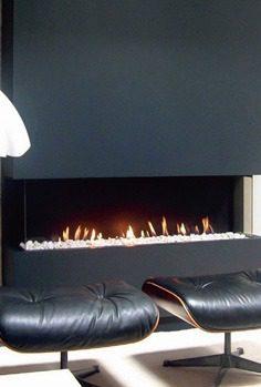 Foyer gaz Lorflam Grande vision - 150TFH