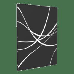 Plaque murale lignes