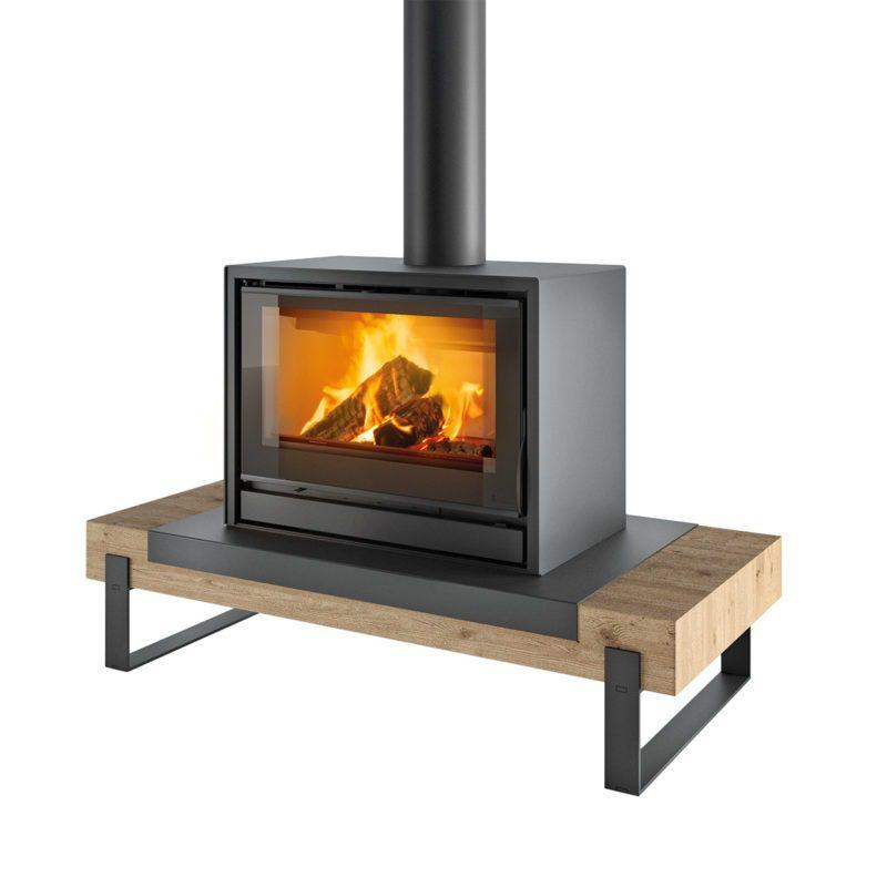 Poêle à bois Nantes et Angers - Concept Wooden Board Vario K80